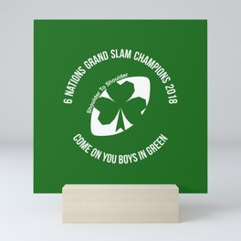 Ireland - Grand Slam Champions 2018 Mini Art Print