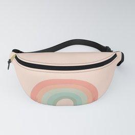 Retro Rainbow Fanny Pack