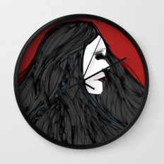 March of The Black Queen Wall Clock