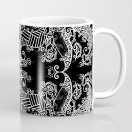 Ornament - Tree of Life - Rebirth - Mehndi Love - Black #3 Coffee Mug