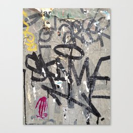 Paris Background 2 Canvas Print