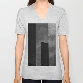 Downtown Los Angeles Unisex V-Neck