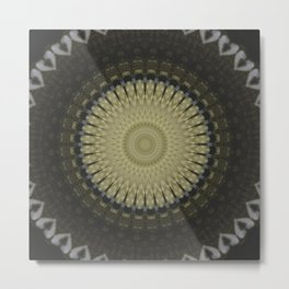 Recreational Maylanta Mandala 34 Metal Print