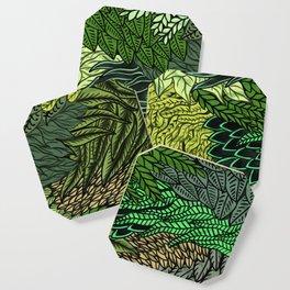 Leaf Cluster Coaster