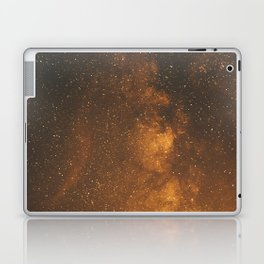 The Milky Way (Forest Landscape Photography, Starry Night Sky Photo) Laptop & iPad Skin