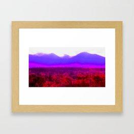 Desert Glow Framed Art Print