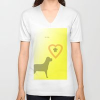 best friend V-neck T-shirts featuring best friend by sladja