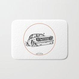 Crazy Car Art 0120 Bath Mat