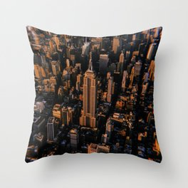 New York City // Retro 54 Throw Pillow