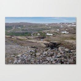 Icelandic Moonscapes - Three Canvas Print