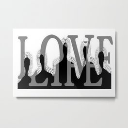 Lovelife Metal Print