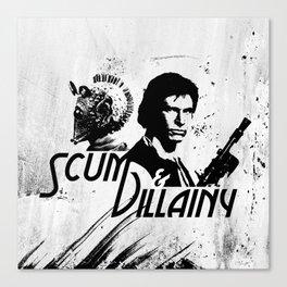 Scum & Villainy Canvas Print