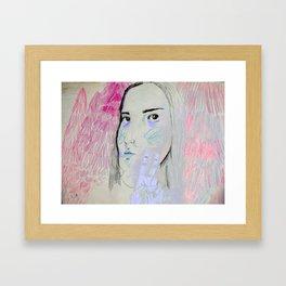 Forest Slumber Framed Art Print