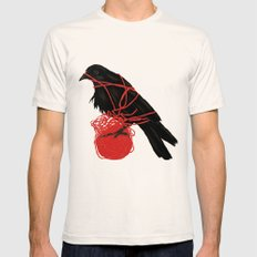 Transatlanticism Mens Fitted Tee Natural MEDIUM