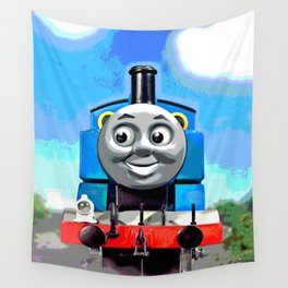Thomas Has A Smile Wall Tapestry