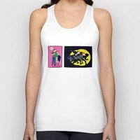 dana scully Tank Tops featuring Aliens, Scully! by Anna Valle