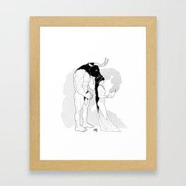 Minotaur' Lair Framed Art Print