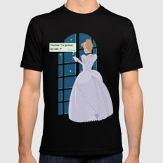 Cinderella - At home before midnight Black Mens Fitted Tee MEDIUM