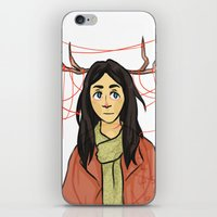 abigail larson iPhone & iPod Skins featuring Abigail - I love you so by KalesButt