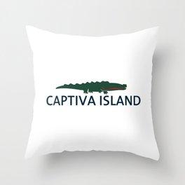 Captiva Island - Florida. Throw Pillow