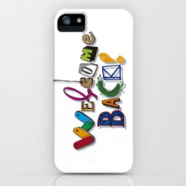 Welcome Back! iPhone Case