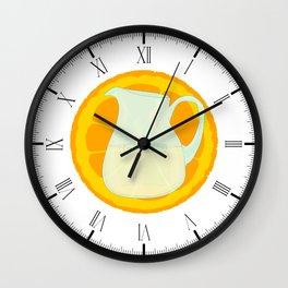 Cool Orangeade Wall Clock