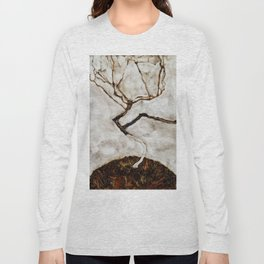 "Egon Schiele ""Small Tree in Late Autumn"" Long Sleeve T-shirt"