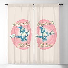 Welcome to the shitshow (pastel colors) Blackout Curtain
