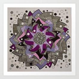 Mandala 003 Art Print
