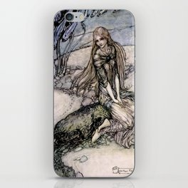 "Arthur Rackham Fairy Art from ""Undine"" iPhone Skin"