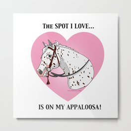 Appaloosa by Paint Horse Design Metal Print