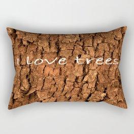 Bark (2) Rectangular Pillow