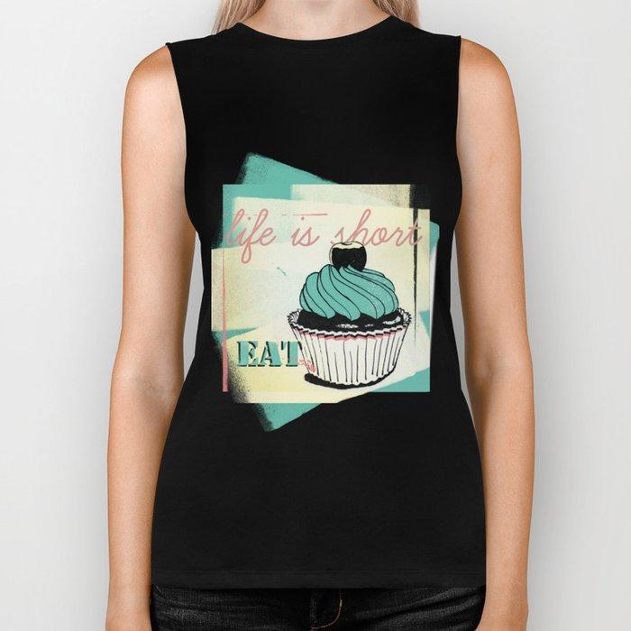 Cupcake Biker Tank