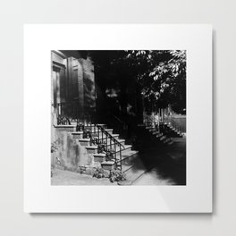 Lark Stoop Trio Metal Print