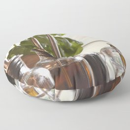 Olive and basilicum Floor Pillow
