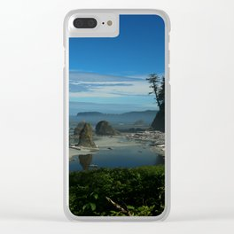 Beauty At Heart Clear iPhone Case