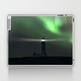When the northern light appears Laptop & iPad Skin