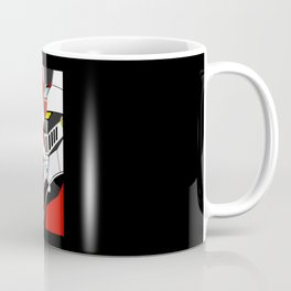 Mazingerz Mecha Vintage Coffee Mug