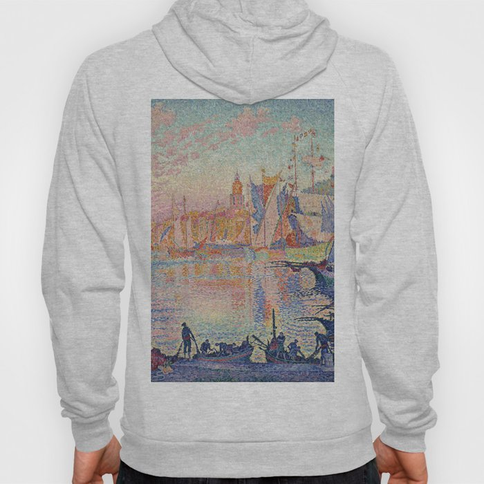 Paul Signac - The Port Of Saint Tropez Hoody