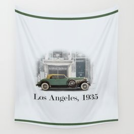 A Duesenberg in Los Angeles Wall Tapestry