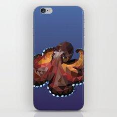 Geometric Octopus iPhone & iPod Skin