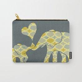 Elephant Hugs Carry-All Pouch