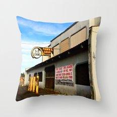 Local Pawn Shop Throw Pillow