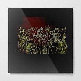 Exodus Metal Print