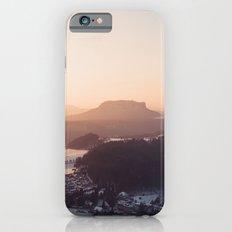 Sunrise in Saxon Switzerland iPhone 6s Slim Case