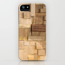 Wood bas-relief iPhone Case