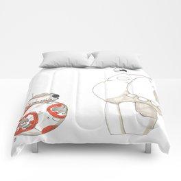BB8 Meets Baymax Comforters