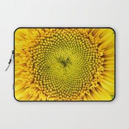 Teddy Bear Sunflower Center Laptop Sleeve