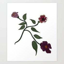 Destiny's Flower Part1 Art Print