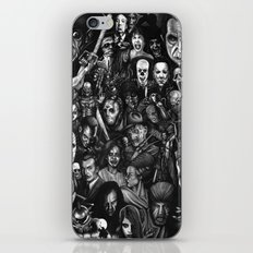 Many Faces iPhone & iPod Skin